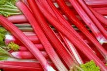 Rhubarb- not just a great sword!