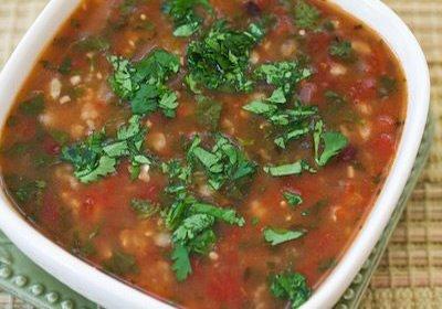 Vegetable & Bean Soup