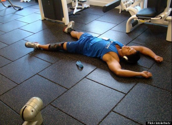 Making sure your body is ready for its next workout